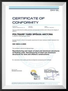Poltramp Yard HSE & Quality