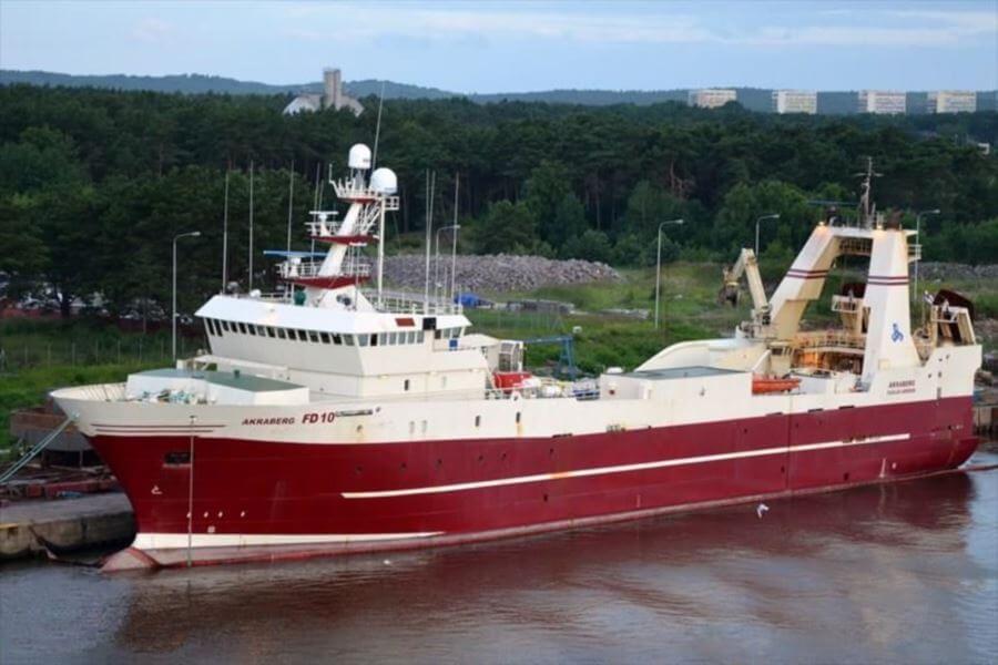 Poltramp Yard Fishing Trawler AKRABERG (ex Odra)